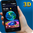 Earth in Space 3D Theme icon