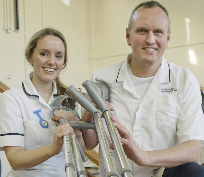 Have you had a hospital crutch?
