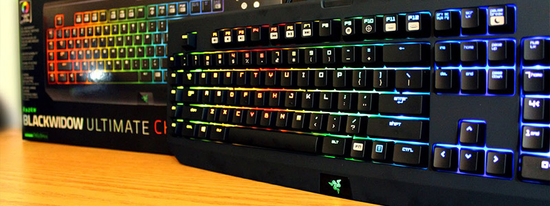 Best gaming keyboards 2018,Razer BlackWidow Chroma