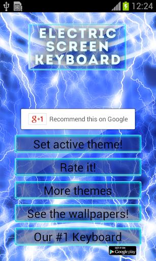 Electric Screen Keyboard