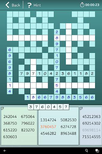 Astraware Number Cross screenshot 8