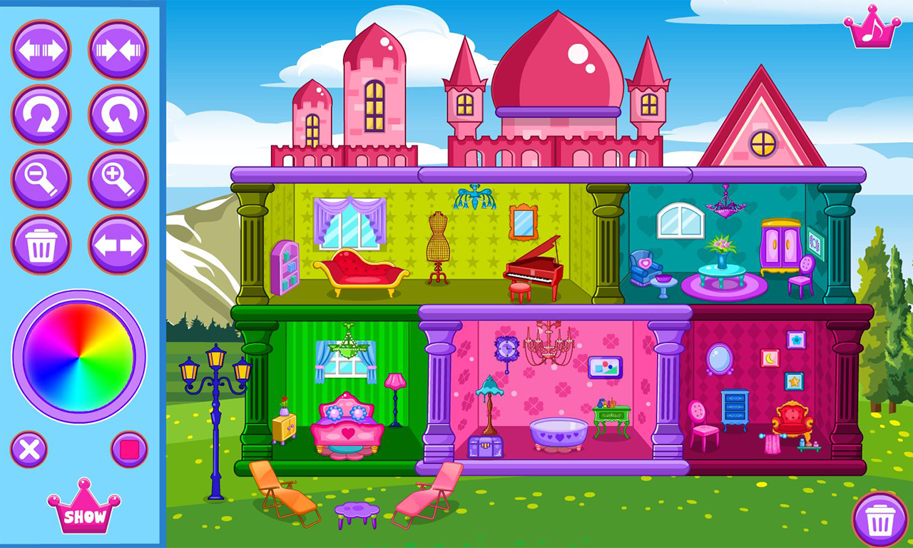 Doll House Decoration Screenshot