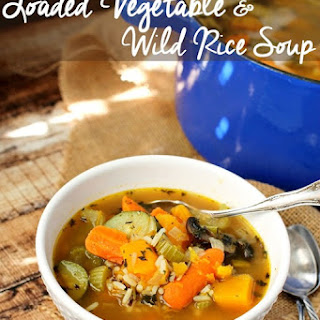 Loaded Vegetable & Wild Rice Soup