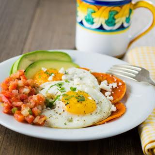 Huevos Rancheros with Butternut Tortillas