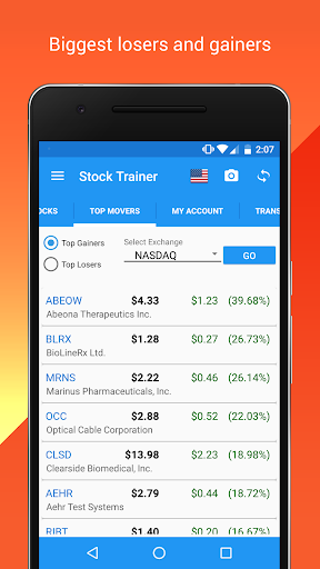 Stock Trainer: Virtual Trading Screenshot