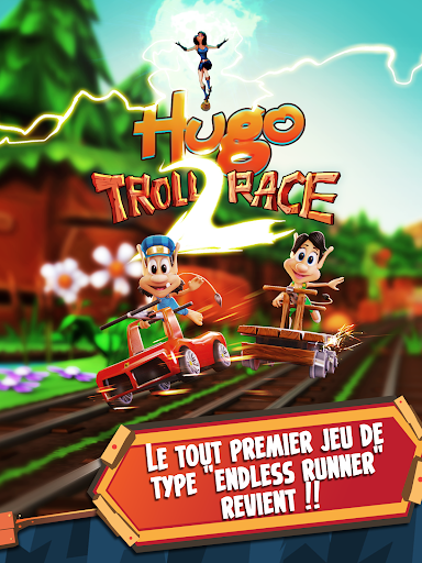 Télécharger gratuit Hugo Troll Race 2: The Daring Rail Rush APK MOD 1