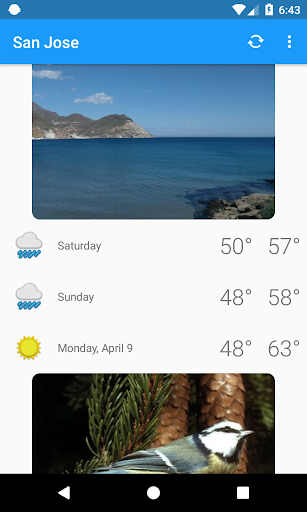 San Jose,CA - weather and more 1.0 screenshots 5