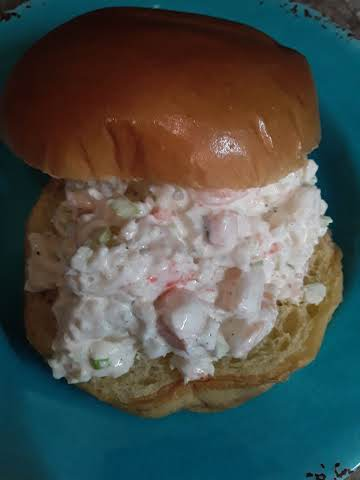 4 Ingredient Shrimp Salad