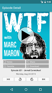 WTF with Marc Maron- screenshot thumbnail