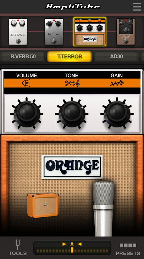 AmpliTube UA- screenshot