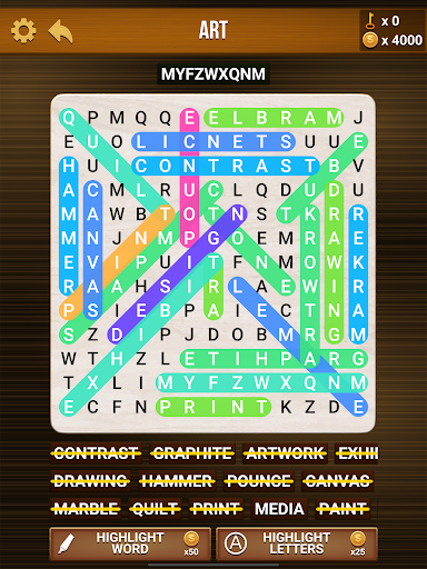 Wow Search: Classic Word Search hack tool