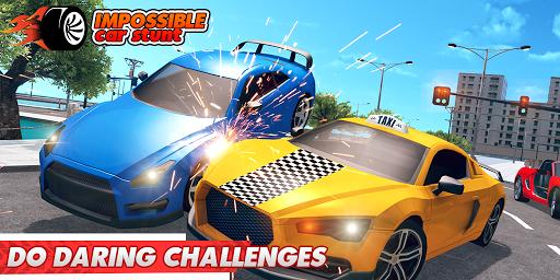 Impossible Car Stunts 3D - Car Stunt Races screenshots 4