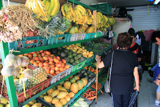 Photo: Local fruit and produce stand
