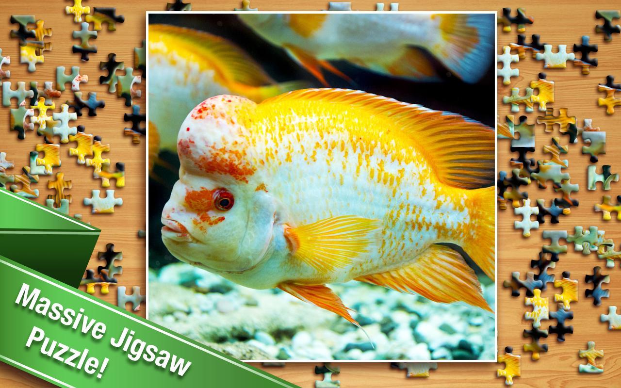 Freshwater fish jigsaw puzzles - Jigsaw Screenshot