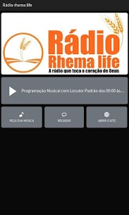 Rádio Rhema Life- screenshot thumbnail