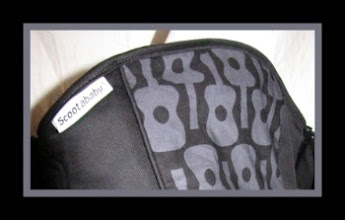 """Photo: """"Lennon"""" customized Scootababy with Black straps"""