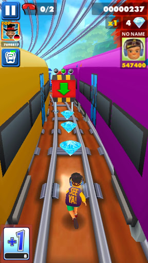 Subway Boy Run: Endless Runner Game screenshot 5