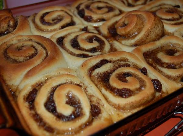 Preheat oven to 375. Bake for 20 min or till golden brown.Glaze: Combine glaze...