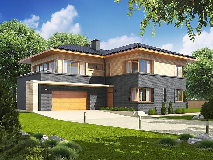 Projekt domu lorenzo g2 tqu 114 for Proiect casa 100 mp fara etaj
