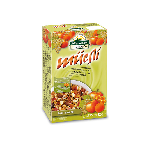 cereal muesli frutas 375gr