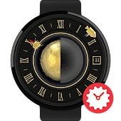 Moonlander watchface by Materi