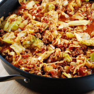 Slow Cooker Un-Stuffed Cabbage Roll Soup Recipe