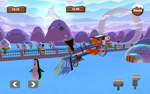 Foto do Snowman Monster Car Christmas Train: Gift Collect