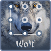 Cool Wolf King AppLock Theme