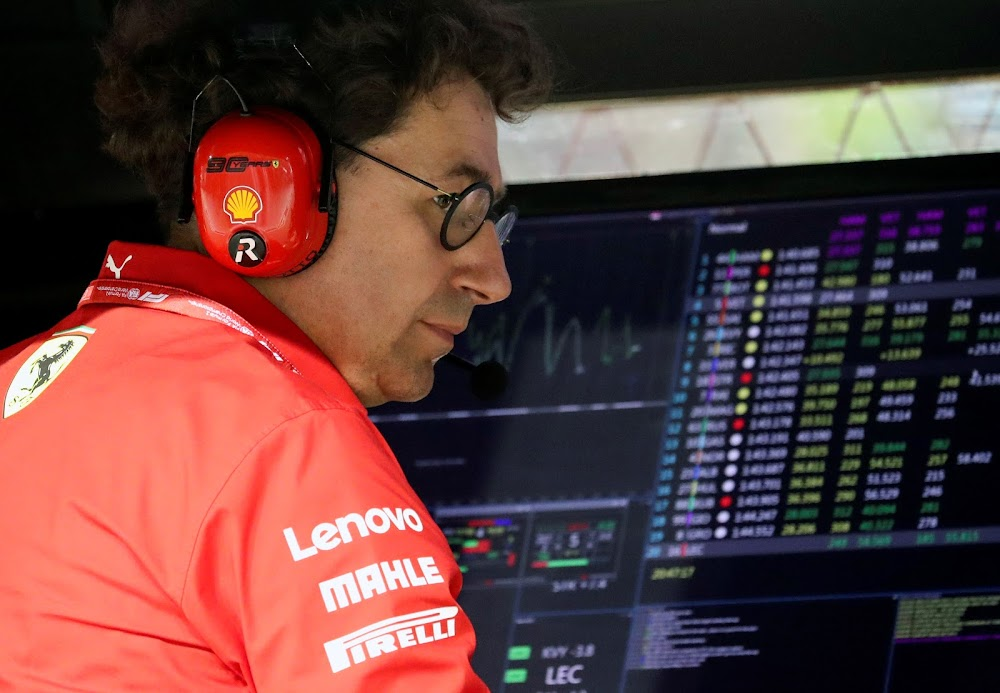 Formula One could race into January if necessary, says Ferrari's Binotto