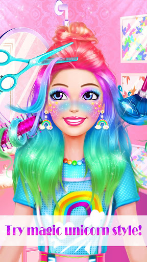 Unicorn Makeup Dress Up Artist screenshot 9