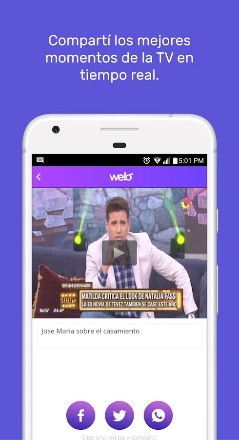 Welo TV Clips & Capturas- screenshot