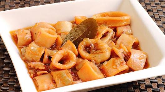 Aprende a preparar tus propios calamares en salsa americana