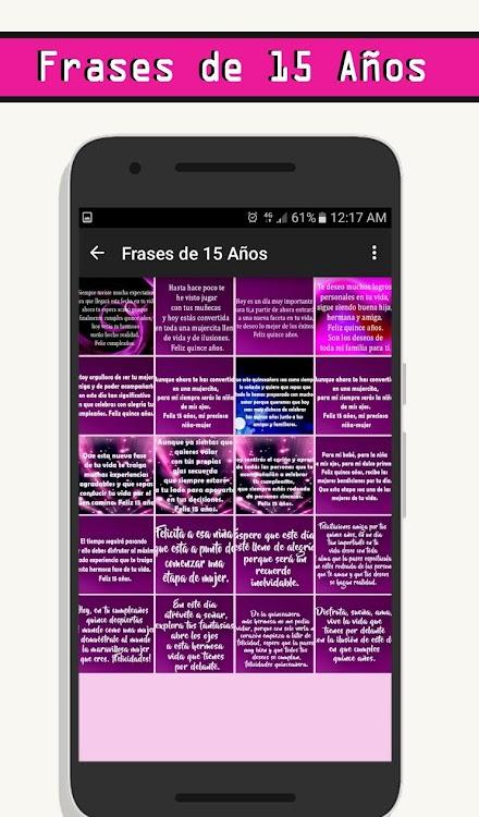 Frases De 15 Años Android Aplicaciones Appagg