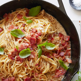Brie, Bacon and Basil Pasta Recipe