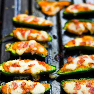 Baked Jalapeno Poppers with Cottage Cheese.