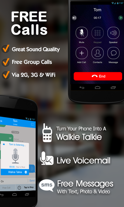 Free Phone Calls, Free Texting- screenshot