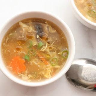 Springtime Hot And Sour Soup