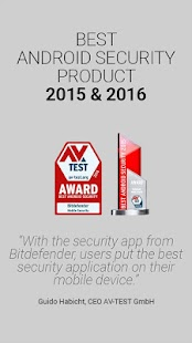 Bitdefender Mobile Security & Antivirus- screenshot thumbnail