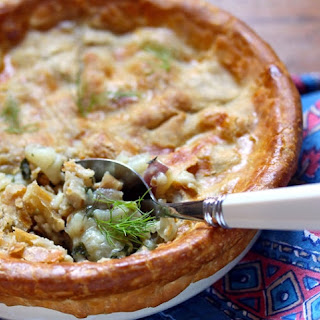 Fish And Fennel Pot Pie