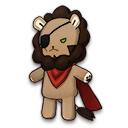 アスランの赤いマントの獅子