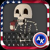 Skeletons Keyboard Theme