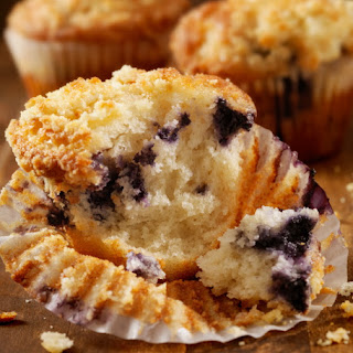 Aunt Alice's Blueberry Muffins