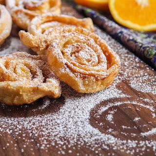Tagliatelle Dolci Di Carnevale (Italian Carnival Sweet Tagliatelle) Recipe