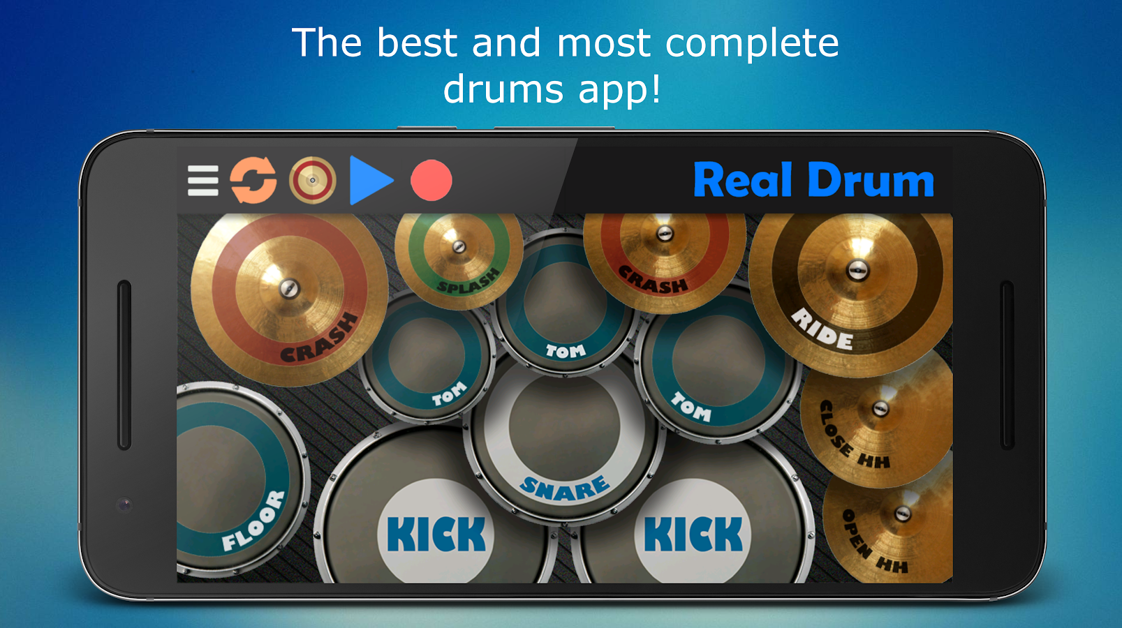 Real Drum - The Best Drum Pads Simulator- screenshot