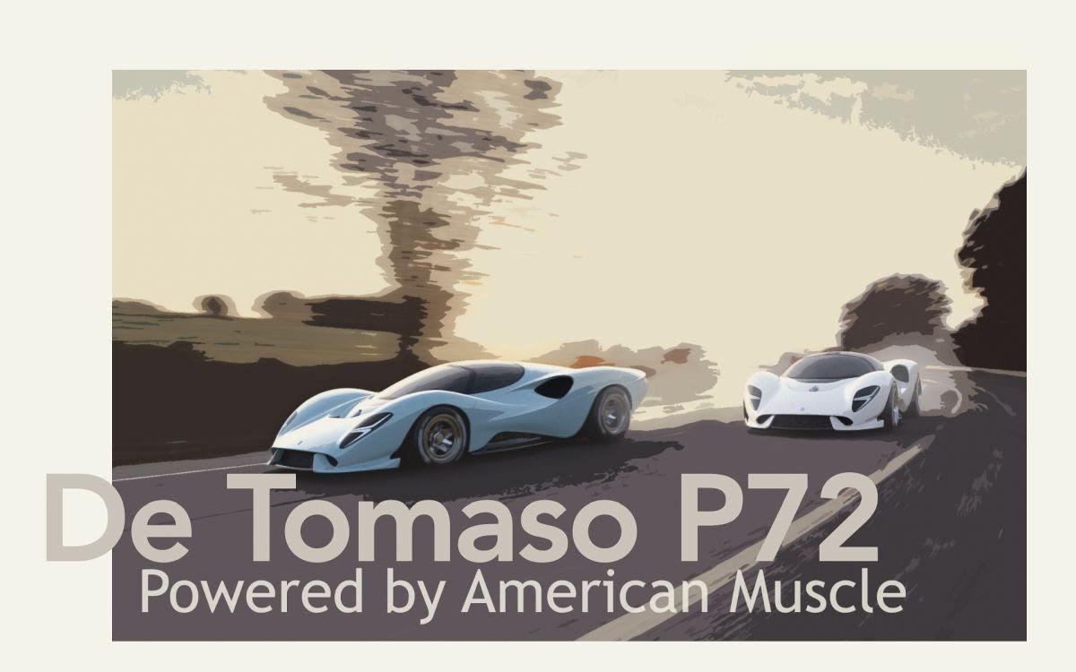 DeTomaso P72 engine details released