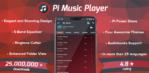 Pi Music Player - MP3 Player, YouTube Music Videos - Apps on