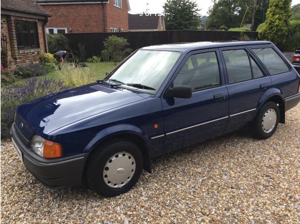 Ford  Mk4 Escort Estate Hire Harleston