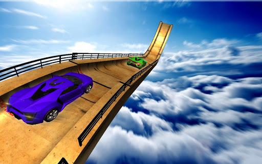 Ultimate Mega Ramp Racing Car Stunts chase