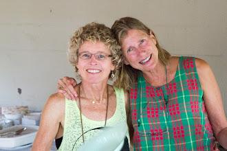 Photo: Judy and Sharon