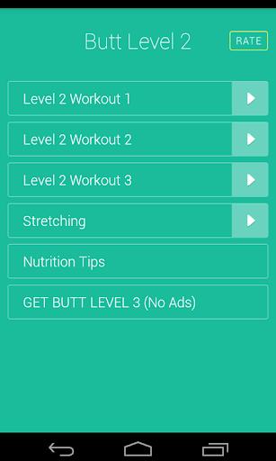 Butt Legs Workouts Level 2